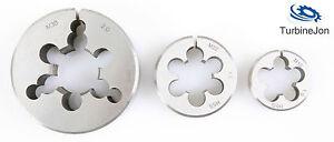 "M12 x 1.5 Split HSS Circular Die 1.5//16/"" Diameter UK Supplier"