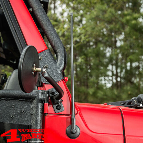 Radio Antenne kurz flexibel 53cm Kurzantenne Jeep Wrangler TJ JK JL 97-19