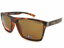 Dirty Dog VOLCANO Polarized Mens Sunglasses Satin Brown Tortoise  / Brown 53434