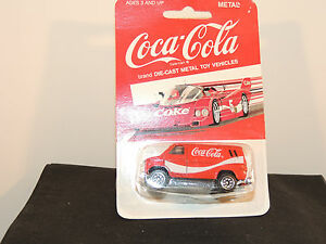 Coca Cola 1997 Die Cast 1979 Van In Original Package By Hartoy Inc