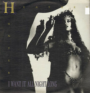 HEATHER HUNTER - I Want En All Night Long - Great Jones