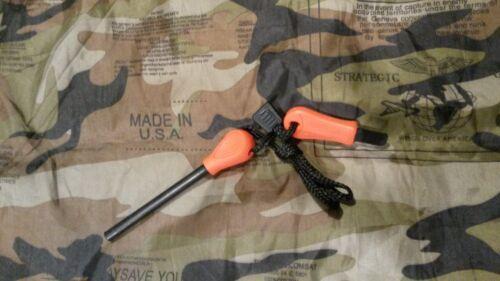 Fire steel Firesteel starter flint Ferrocerium Ferro rod UK seller 90mm x 8mm