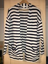 Navy And Off White Stripe LOGG at H&M Slouchy Cardigan Medium Worn Once