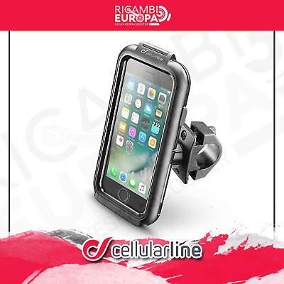 CELLULAR LINE SUPPORTO custodia porta Iphone 7 per manubri moto