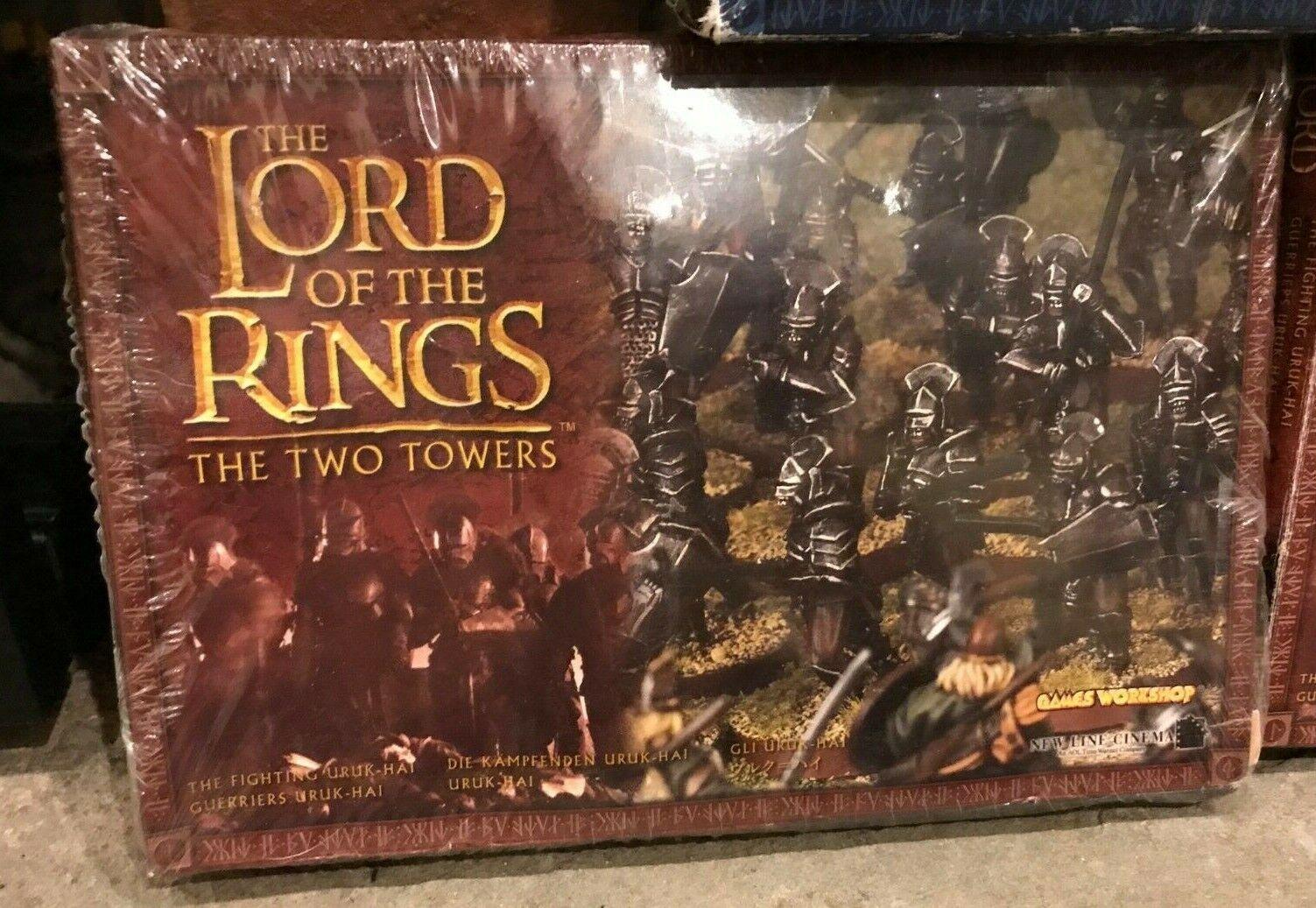 El Señor De Los Anillos Las Dos Torres estrategia de batalla Juegos Workshop Nuevo Sellado