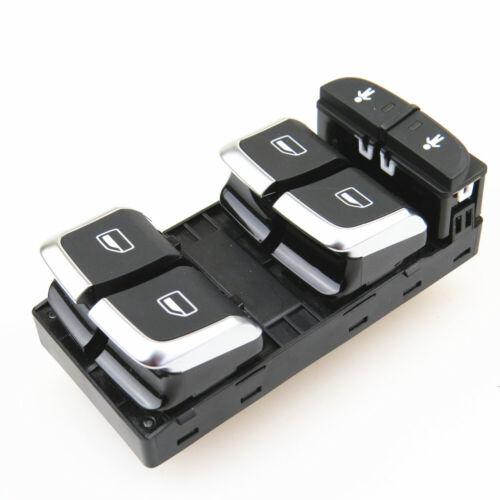 Chrom Spiegel Schalter Fensterheber Taste Für AUDI A6 Allroad Quattro A7 RS6 RS7