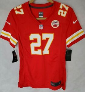 reputable site e0c4c ec2aa Details about Authentic Nike Women's KC Chiefs Jersey size Medium #27