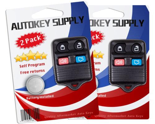 2 For Mercury Mountaineer 2005 2006 2007 2008 2009 2010 Keyless Remote Key Fob