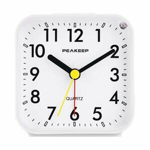 Peakeep-Small-Battery-Operated-Analog-Travel-Alarm-Clock-Silent-No-Ticking-Li
