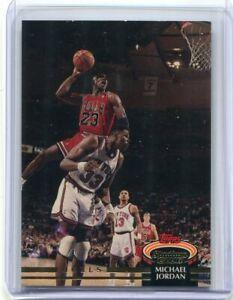 1992 Topps Stadium Club Michael Jordan #1 HOF Base Card - Very Clean!
