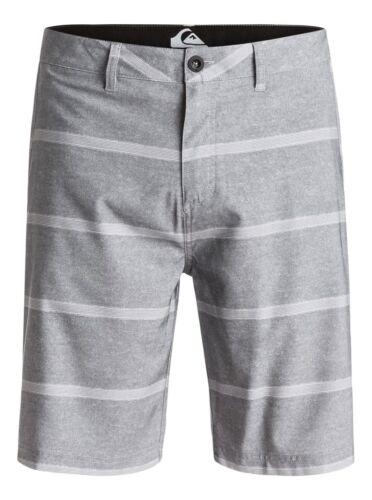 """Quiksilver Stripes 21/"""" Amphibian Boardshorts Swimwear Walkshorts Sz 32"""
