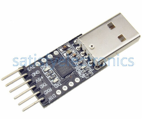5PCS 6Pin USB 2.0 To TTL UART Module Serial Converter CP2102 SC remplacer FT232