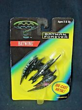 """Batman Forever BATWING Toy Jet Plane Diecast Metal New Kenner 1995 4"""""""
