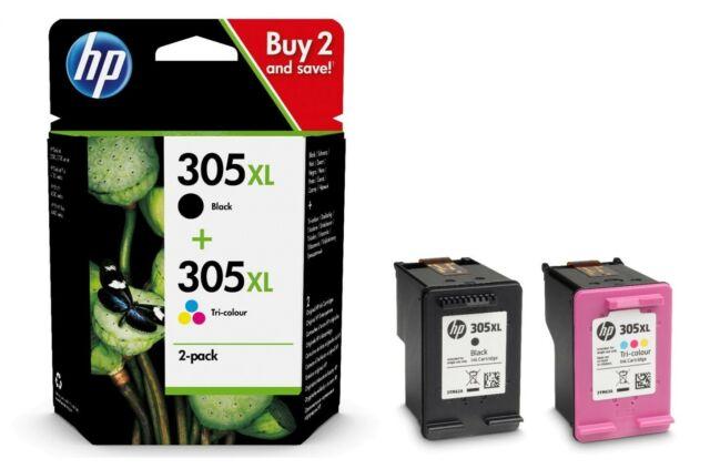 HP 305XL 2-pack Black/Tri-colour Original Ink Cartridges Combo pack
