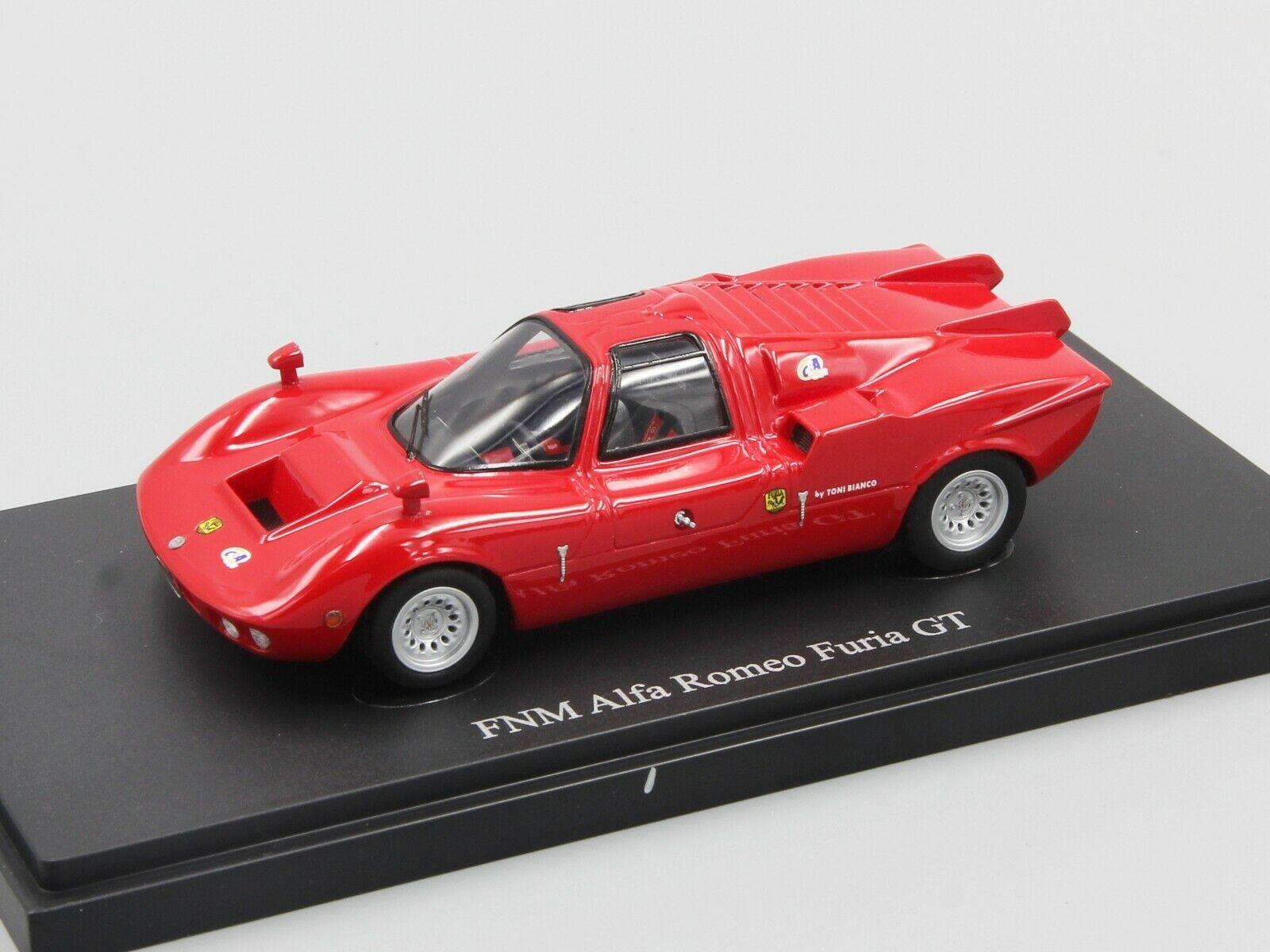 marca de lujo Autocult 1 43 FNM Alfa Romeo furia furia furia GT, Rojo, Brasil, 1971  barato