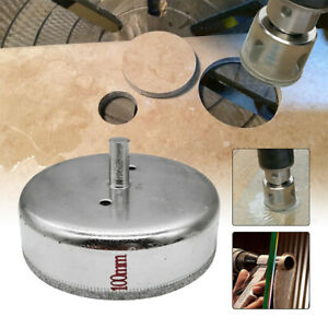 6 x Diamond Coated Tip Marble Tile 10mm Hole Saw Drilling 50mm Length