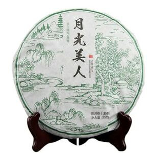 2018 Yunnan Ancient Arbors Raw Puerh Tea Moonlight White Beauty Whiet Tea 357g