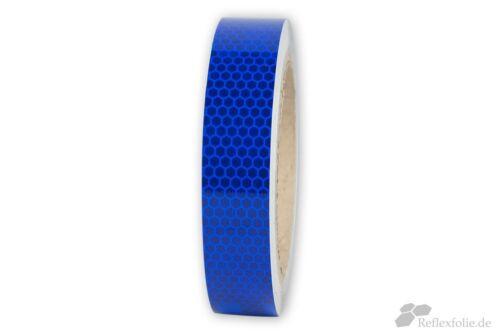 lfm x 25mm 3M™ Reflexband 823i RA2 Reflexfolie blau reflektierend selbstklebend