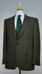 Brioni Mens 'Palatino 21' 3-BTN Superfine Woven Wool Suit 40 /50 R NEW $5400
