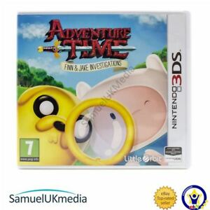 Adventure-Time-Finn-and-Jake-Investigations-Nintendo-3DS-GREAT-CONDITION