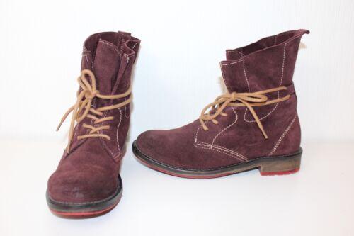 Schnürschuhe 38 Ankle Leder Boots Tamaris Wildleder Active Stiefeletten Stiefel ngHxE8T