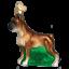thumbnail 1 - Old World Christmas BOXER (12304)N Glass Ornament w/ OWC Box