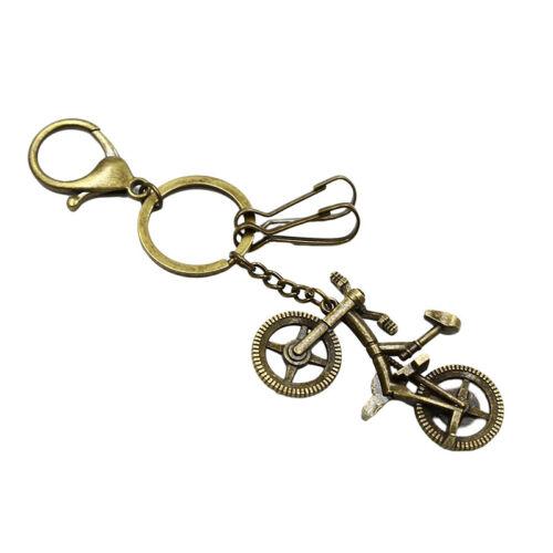Car Pendant Key Holder Keychain Bike Pendant Bicycle Pendant Portable Keyring O3