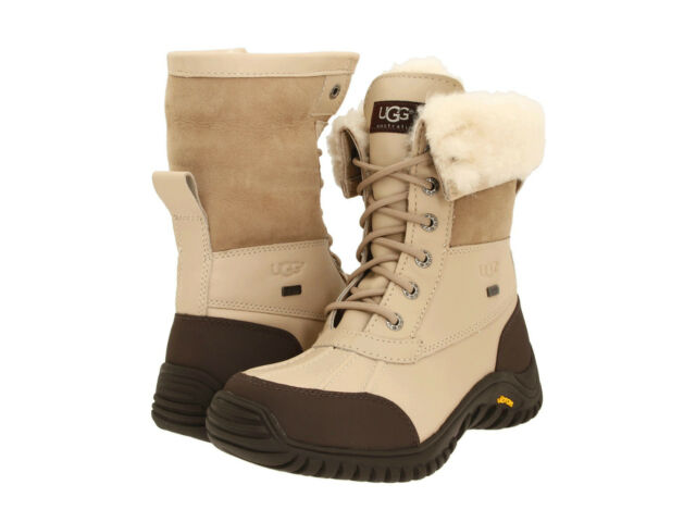NEW WOMEN UGG AUSTRALIA ADIRONDACK II SNOW BOOT SAND LIGHT BEIGE 1909 ORIGINAL