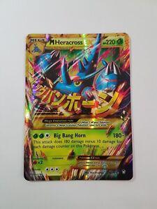 Details About Mega Heracross Ex 112 111 Furious Fists Pokemon Secret Rare