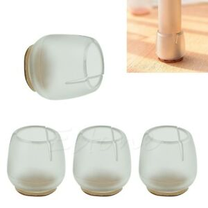 Image Is Loading Chair Leg Caps Rubber Feet Protector Pads Furniture