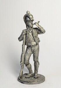 Napoleonic-Wars-Private-Catalan-Battalion-Light-Infantry-54-mm-Lead-Figure