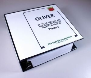 OLIVER-SUPER-55-66-77-88-TRACTOR-SERVICE-REPAIR-MANUAL-SHOP-OVERHAUL-1-384-Pages