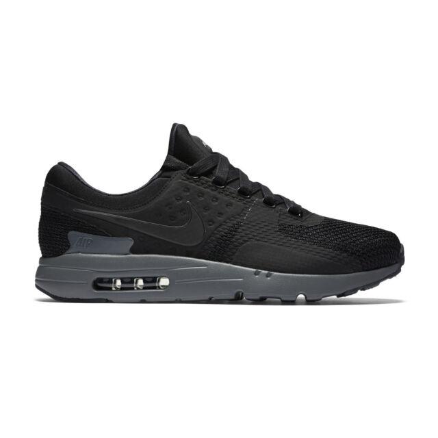 K25 Nike Air Max Zero QS UK 11 EUR 46 Black Cool Grey Men's Trainers 789695 001