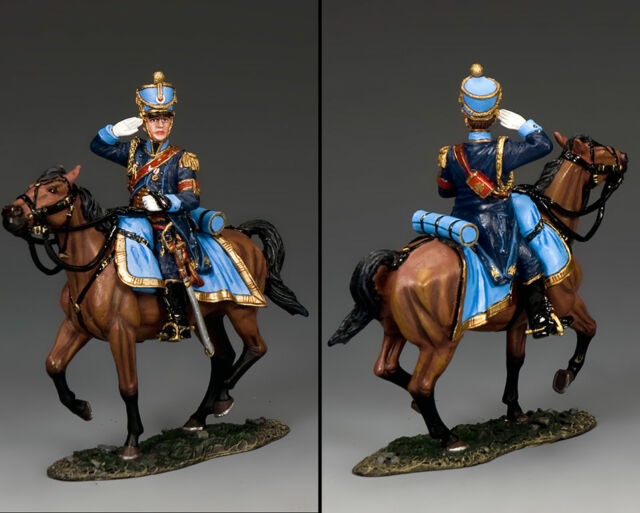 KING AND COUNTRY French Mounted Saluting Aide de Camp NA412