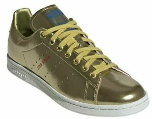 Details about Adidas ORIGINALS Stan Smith Trainers GOLD METALLIC / Size 12 UK / NEW