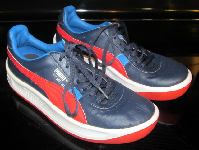 sports shoes 5b033 ce933 Men's Puma GV Special Sport Lifestyle US 6 1/2 Size 6.5 Red White Sky Navy  Blue
