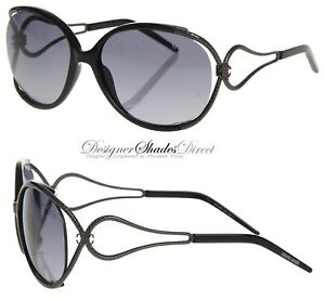 572742c6aa136 Roberto Cavalli Sunglasses NARCISO Rc524 01B Black Gun Metal Oval ...