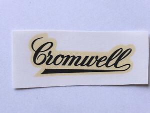 Sporting Cromwell Schriftzug Wasserabziehbild Abziehbild 70x25 Mm 05730c Schwarz Aufkleber