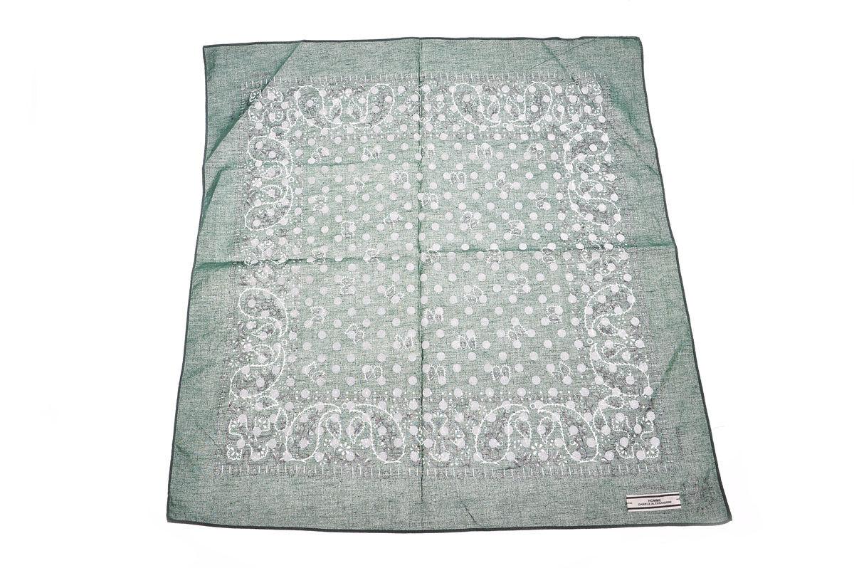 Scarf Scarf DANIELE ALESSANDRINI Scarf Scarves Cotton man green z2893402 33