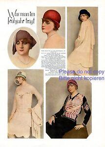 Fruhjahrsmode-Fruhling-1929-1-Seite-Fotoabb-20er-Jahre-Hut-Mode-Inge-Lyn-Maybaum