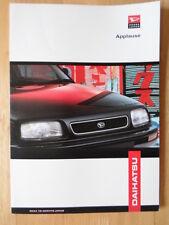 DAIHATSU Applause orig 1998 UK Market sales brochure