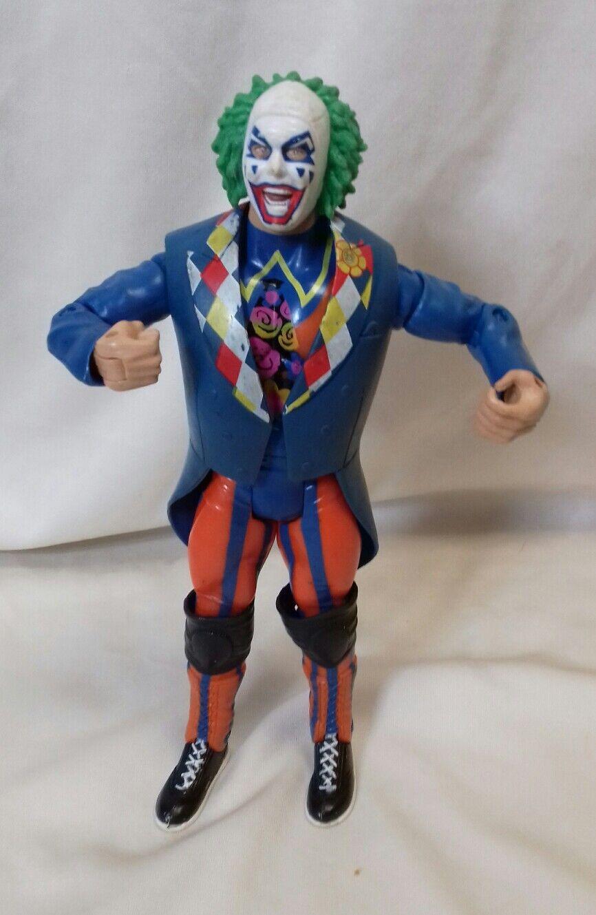 WWE - Wrestler Doink The Clown Classic Superstars Series 27 7  Figure Jakks 2003