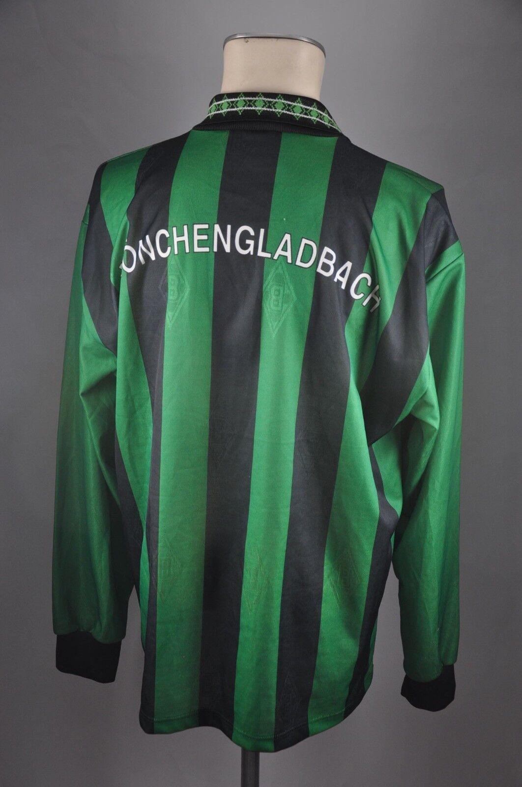 Borussia Mönchengladbach Trikot Gr. XL Diebels 1995-1996 Reebok Reebok 1995-1996 LS 90er Home e022a7
