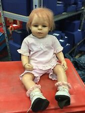 Brigitte Leman Resin Puppe 60 cm. Top Zustand