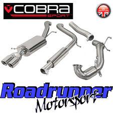 COBRA Sport Polo GTI 1.8 TSI Turbo Back Sistema di scarico Porta & SPORTS CAT 6C
