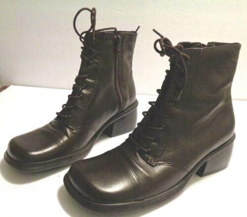 Mint NINE WEST Womens Lace Up  Ankle Boots  Prof'e