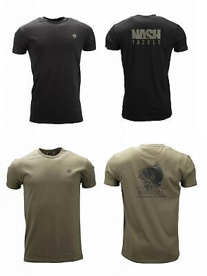 All Sizes New Navitas Apparel Kurt Tee T Shirt Black Carp Fishing Clothing