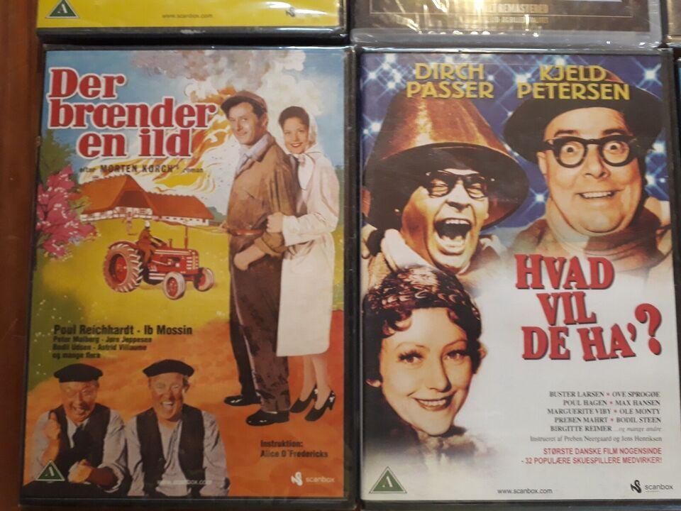Gamle danske film, instruktør - dba.dk - Køb og Salg af