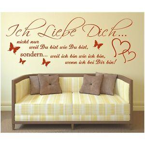 Spruch-WANDTATTOO-Ich-Liebe-Dich-wie-Du-Wandsticker-Wandaufkleber-Sticker-6
