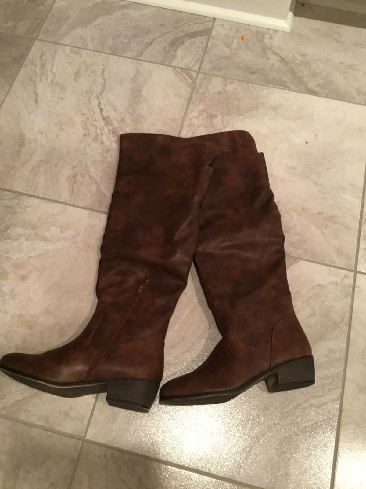 Brown Knee High Boots Size 9